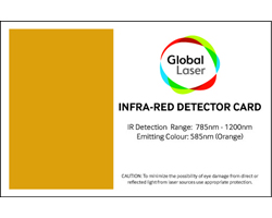 Infra-red Detector Card | Wavelength coverage from 785nm to 1200nm