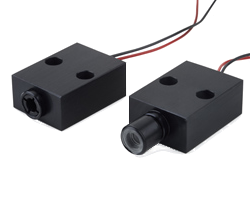 LDM126 | Low profile Laser Diode Module with flat rectangular housing for surface alignment