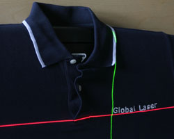 Laser Alignment for Textiles